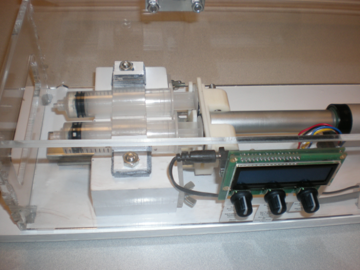 Automated blood transfusion device prototype