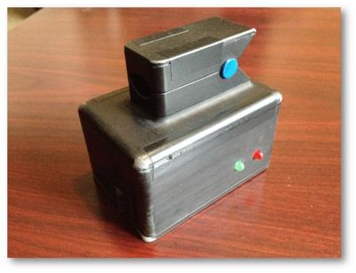 Blood pressure monitor prototype