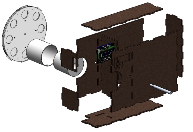 Cervical cancer screening simulator gamma prototype