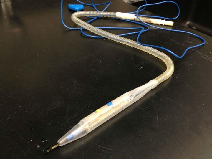 Electrosurgery smoke removal method prototype