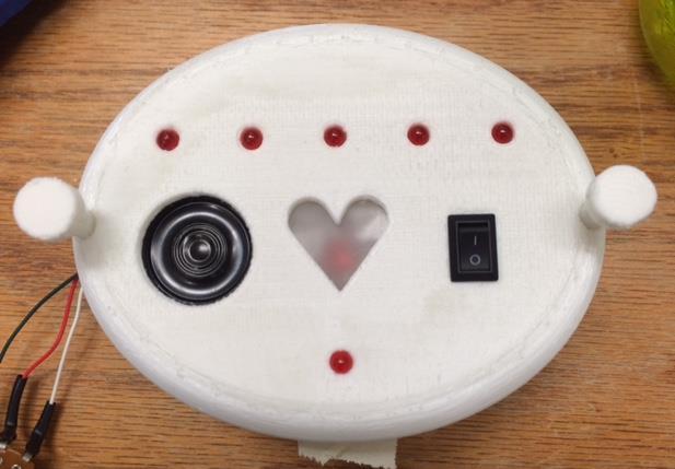Fetal heart rate monitor prototype