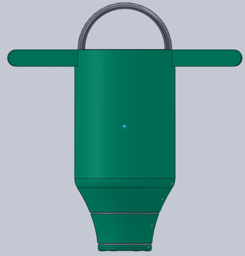 Infant male circumcision device alpha prototype CAD file
