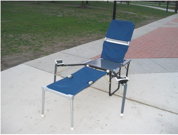 Portable pelvic examination table omega prototype